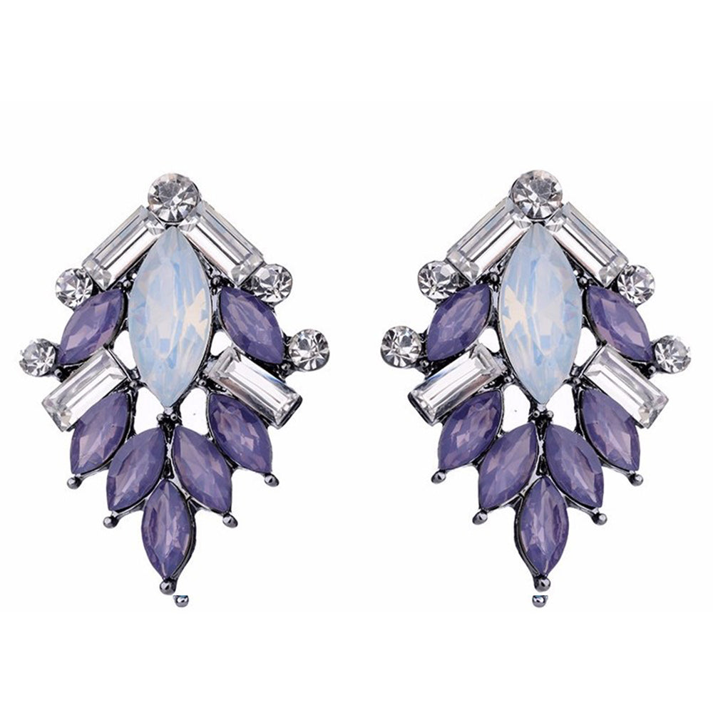Perch - Lavender - Delicate Stone Earrings