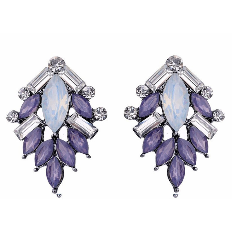 Perch - Lavender - Stone Earrings