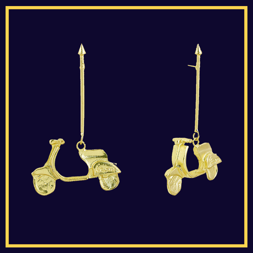 scootsy - Scooty Statement Earrings