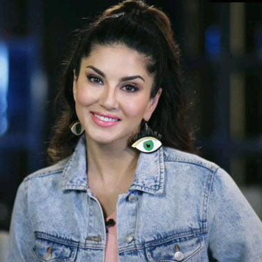 Sunny Leone In Knick Knack Nook Green Eyes Earrings - Quirky Acrylic Eye Earrings