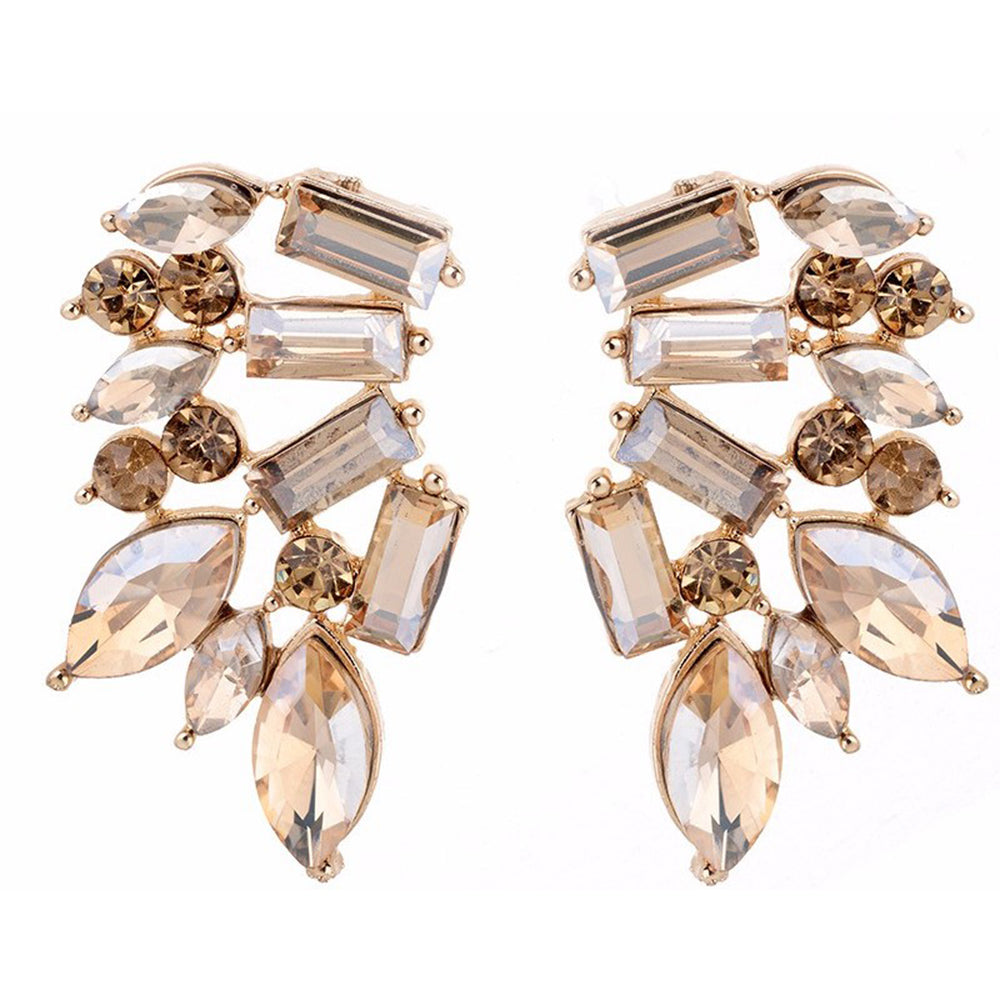 Wings of Fire - Golden Stone Earrings