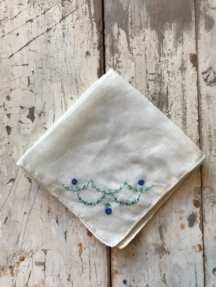 vintage pocket handkerchief
