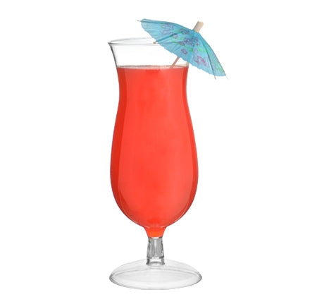 14oz Hurricane Glass, 5 per package - Thebestpartydeals