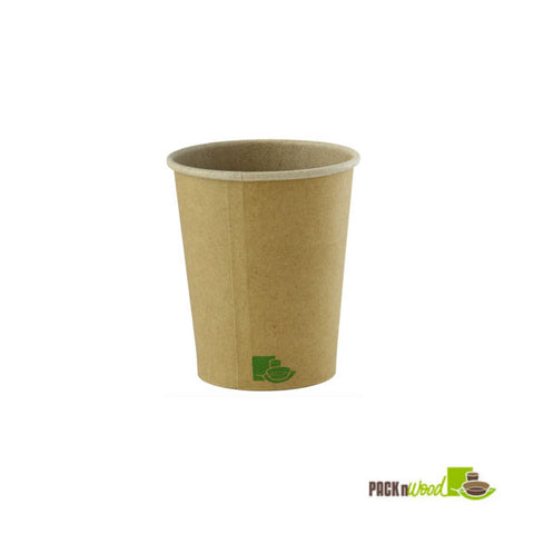8oz Zen Kraft Paper Cup  - 1000 per case - Thebestpartydeals