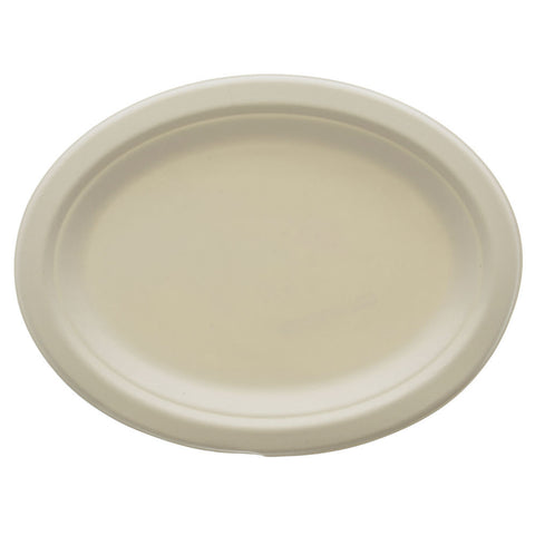 Stalkmarket Compostable Large Oval Platter - case - Thebestpartydeals