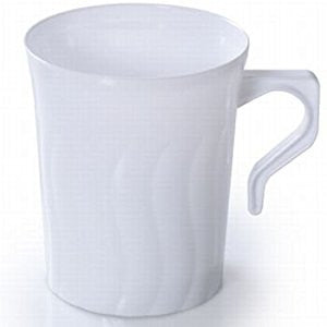Flairware 8 oz. Coffee Mugs, 8 per bag - Thebestpartydeals