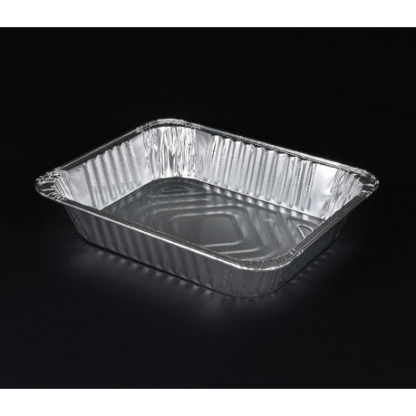 half (9x13)  size medium deep foil pans