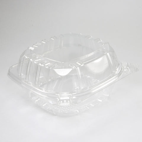 "Dart C57PST1 ClearSeal Sandwich 6"" x 5.8"" x 3"" Clear Plastic Food Container, 500 per case - Thebestpartydeals"