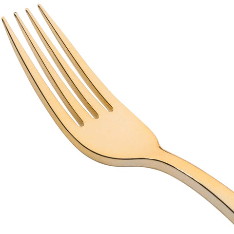 Golden Secrets, Heavy Gold Cutlery, 25 per package - Thebestpartydeals