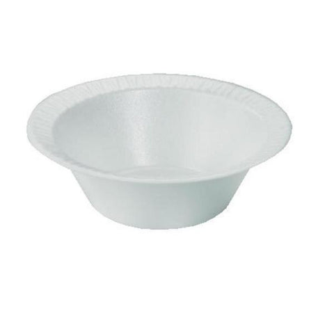 Dart 12 oz. Foam Bowl, 125 per package - Thebestpartydeals