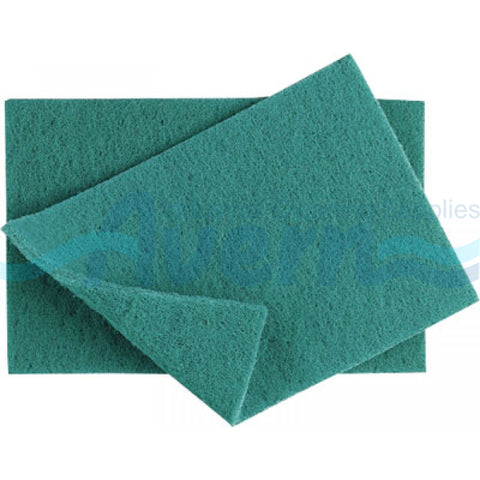 Green Scouring Pads, 10 per package - Thebestpartydeals