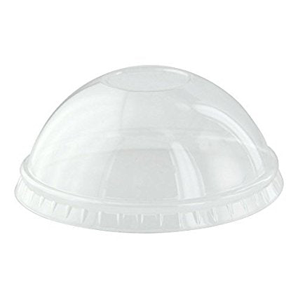Clear dome lid for 8oz soup container - 1000 per case - Thebestpartydeals
