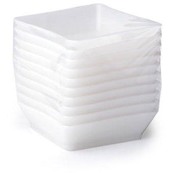 "Tiny Trays 2.25"" x 2.25"", 10 per package - Thebestpartydeals"