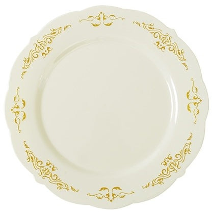 "Heritage Plates, 10"" Dinner Plate, 10 per Package - Thebestpartydeals"