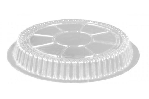 "9"" Clear Dome Lid, 25 per package - Thebestpartydeals"