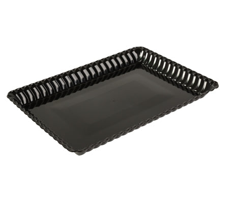 "Flairware 9""x13"" Serving Tray, 3 per package - Thebestpartydeals"