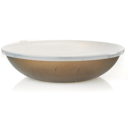 100oz flat bowl PP lid - 24 per case - Thebestpartydeals