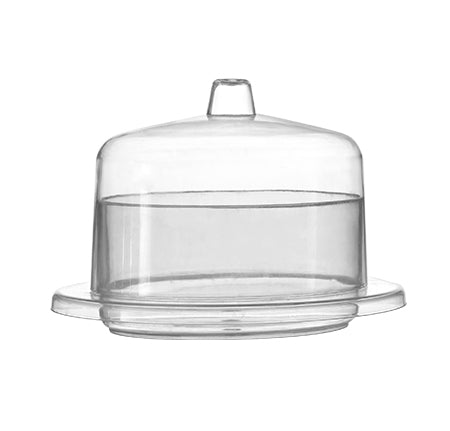 "2.75"" oval mini domain with lid - 120 sets per case - Thebestpartydeals"