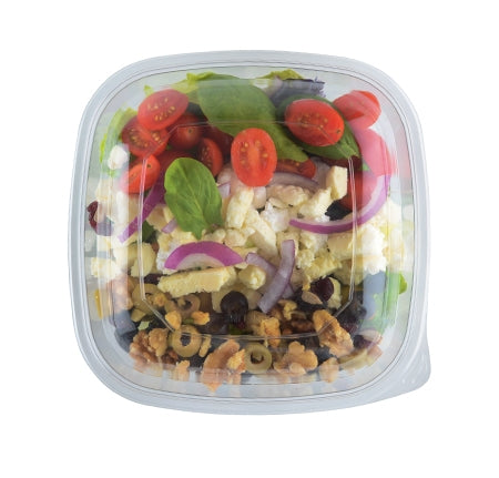 Dome lid for extra large square bowls - 50 per case - Thebestpartydeals