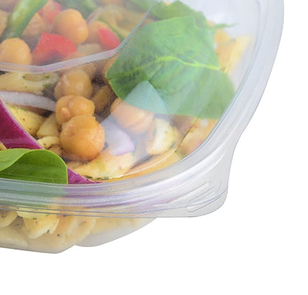 Dome lid for medium square bowls - 300 per case - Thebestpartydeals