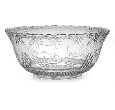 8qt punch bowl - each - Thebestpartydeals