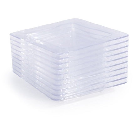 "Tiny Trays 3"" x 3"", 200 per case - Thebestpartydeals"