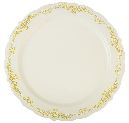 "Heritage 10"" Dinner Plate, 120 per case - Thebestpartydeals"