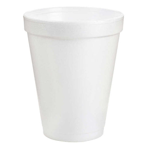 Dart 8 oz. Foam Cup,  25 per package - Thebestpartydeals