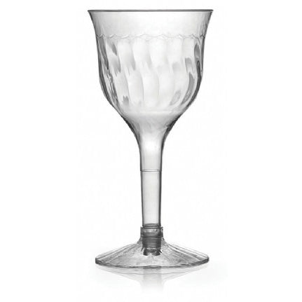 Flairware 2pc 6 oz. Wine Goblet, 10 per bag - Thebestpartydeals