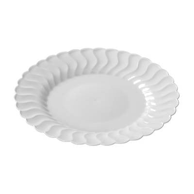 "Flairware 7.5"" Salad Plates, 18 per Package"