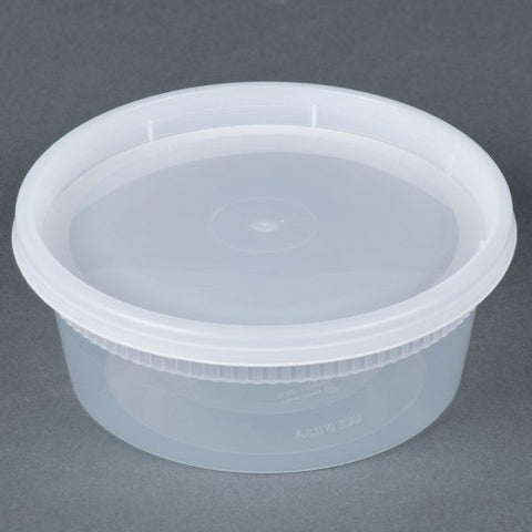 Heavy Deli Container Combo, 240 per case