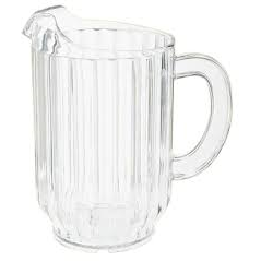 60 oz. Clear Pitcher, 4 per case - Thebestpartydeals