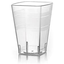 Wavetrends 10 oz. Square Tumbler, 168 per case - Thebestpartydeals