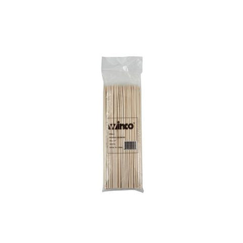 "Winco 8"" Bamboo Skewers, 100 per bag - Thebestpartydeals"
