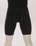 BKS412-Smitty Black Compression Shorts