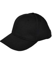 HT306 - Smitty - 6 Stitch Flex Fit Umpire Hat - Available in Black and Navy