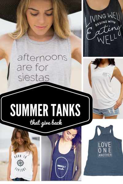 Summer Tanks that Give Back