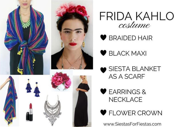 Frida Kahlo DIY Costume Halloween