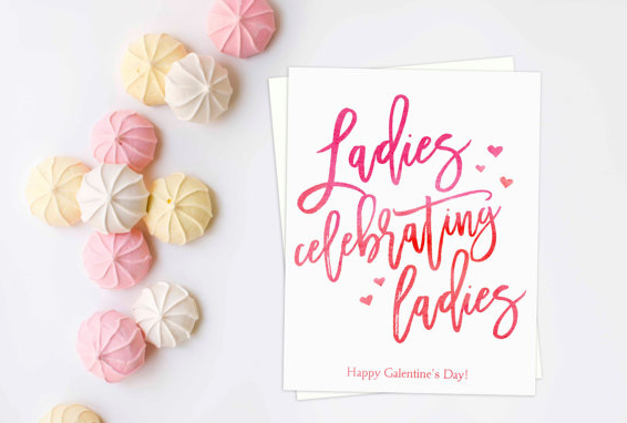 February Workshop: Galentine's Celebration