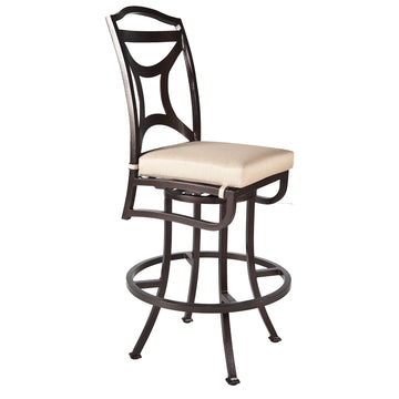 Ow Lee Madison Armless Swivel Bar Stool 2251-SBS