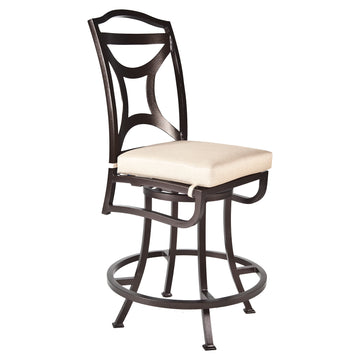 Ow Lee Madison Armless Swivel Counter Stool 2251-SCS
