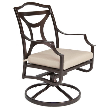 Madison Swivel Rocker Dining Arm Chair