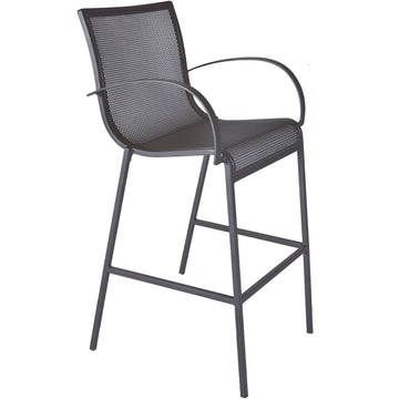 Ow Lee Lennox Bar Stool With Arms 39183-BSA