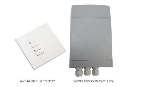 Bromic Wireless On/Off Controller For Gas And Electric Heaters Includes Transmitter