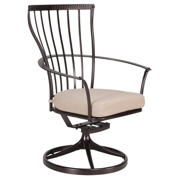 Monterra Dining Swivel Rocker Arm Chair