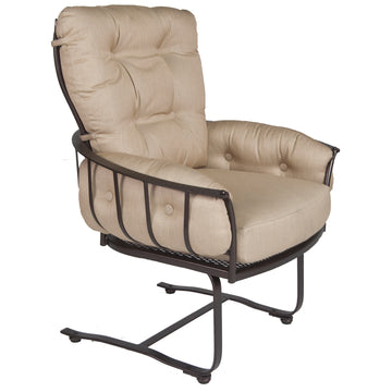 Ow Lee Monterra Mini Spring Base Lounge Arm Chair 424-MSB