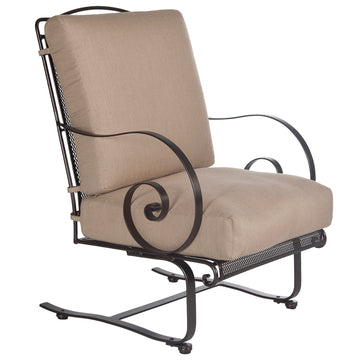 Ow Lee Avalon Spring Base Lounge Chair 4355-SB