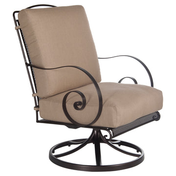 Ow Lee Avalon Swivel Rocker Lounge Chair 4355-SR