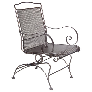 Ow Lee  Avalon Coil Spring Dining Arm Chair 4374-CB