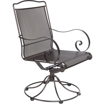 Ow Lee Avalon Swivel Rocker Dining Arm Chair 4374-SR